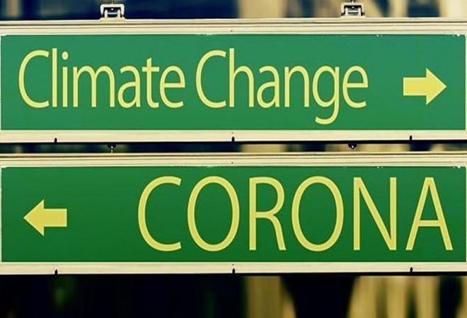 Signposts: Left Corona, Right Climate Change